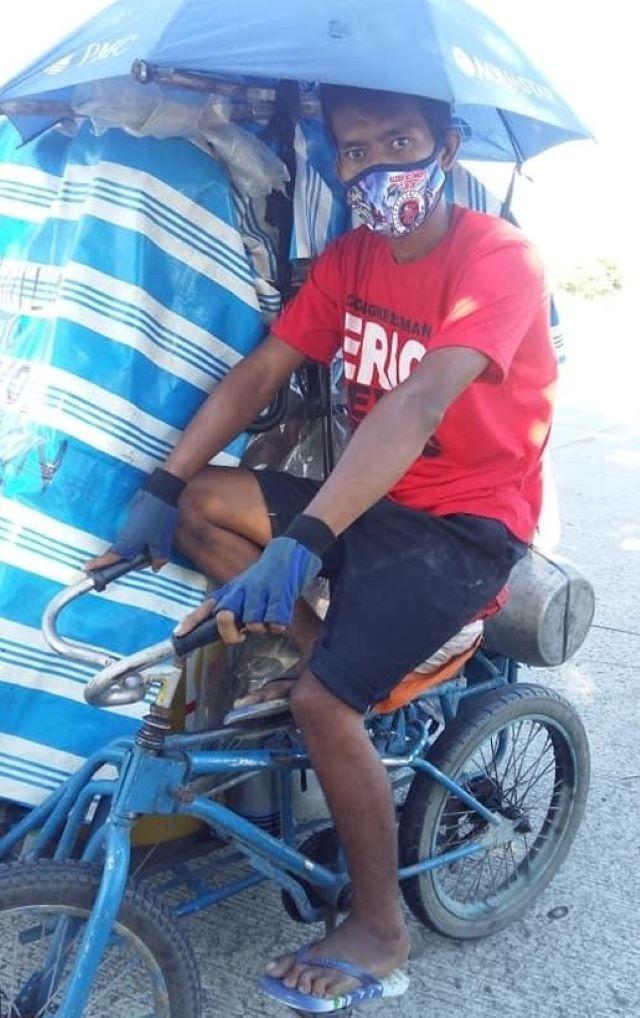Pedicab trip