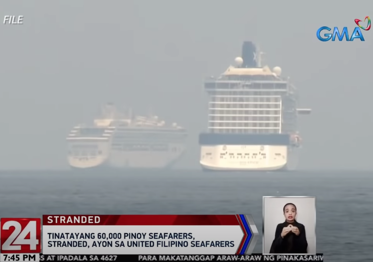 Stranded Pinoy seafarers