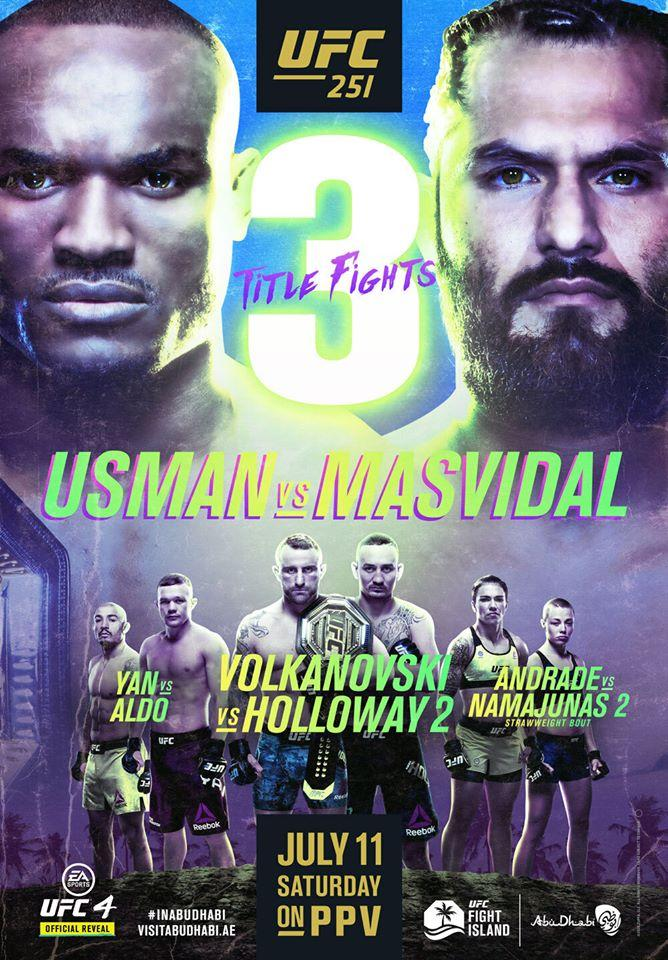 Ufc 251 Weigh Ins Three World Title Fights All Set For