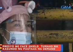 Prices of face shields increase in Divisoria