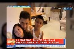 Jimmy Alapag-LJ Moreno family