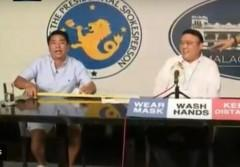 Willie Revillame + Harry Roque
