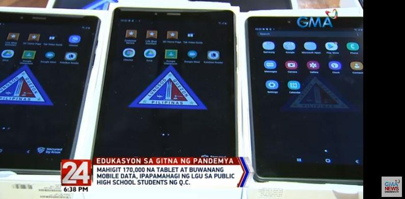 QC to distribute 176k tablets to public high school students - GMA News