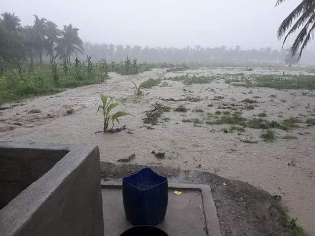 San Francisco, Quezon flood