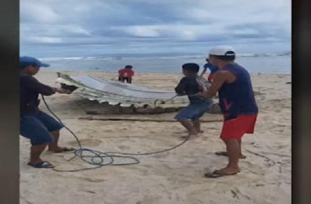 Plane debris in Eastern Samar
