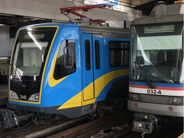 Physical Distancing Metro Rail Transit Line 3