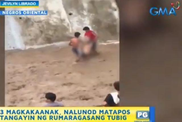Drowning incident in Taysan, Negros Oriental