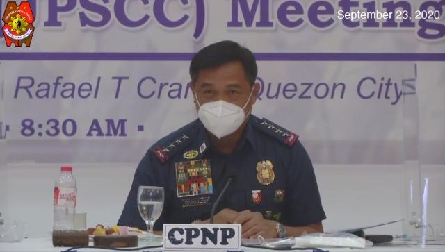 PNP chief Police General Camilo Cascolan