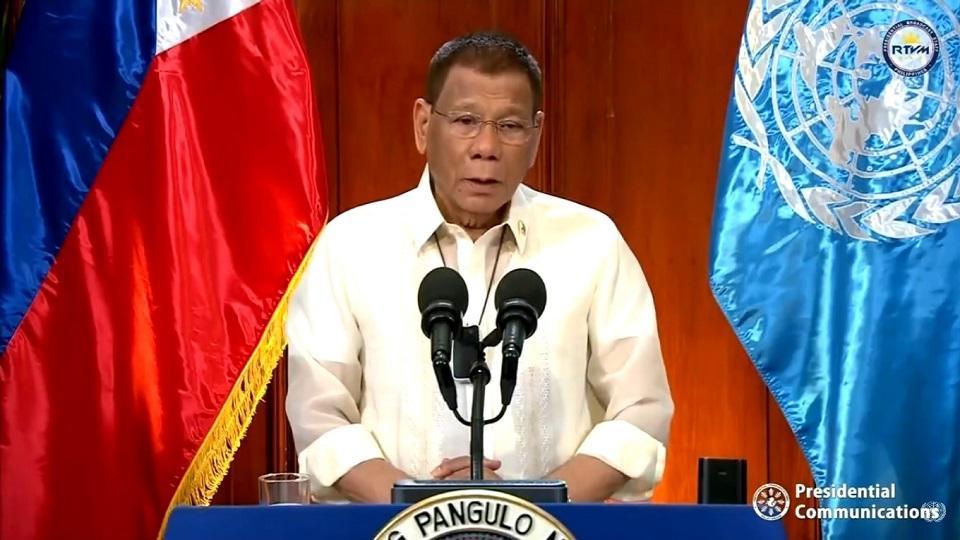Duterte invokes arbitral ruling vs. China in first UN speech