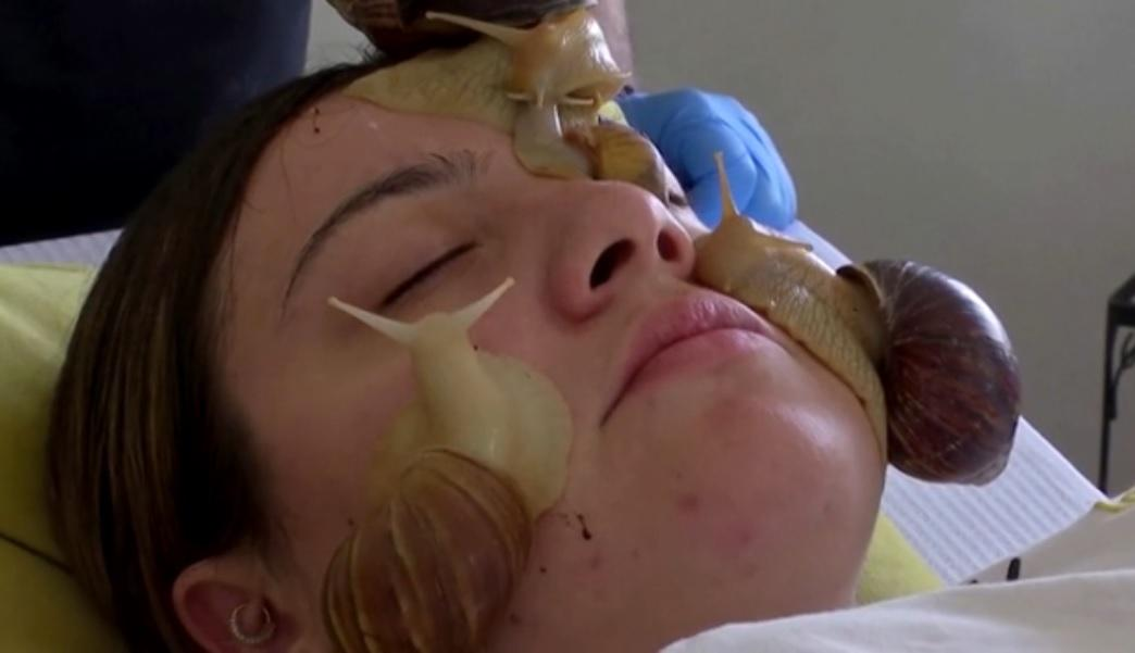 reuters snail facial