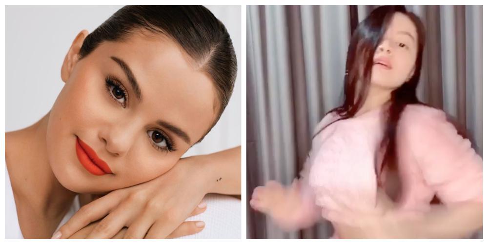 Selena Gomez Barbie Forteza composite