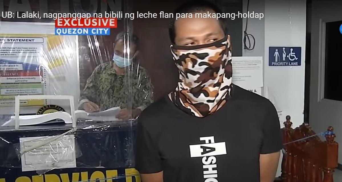 Robbery suspect sa QC