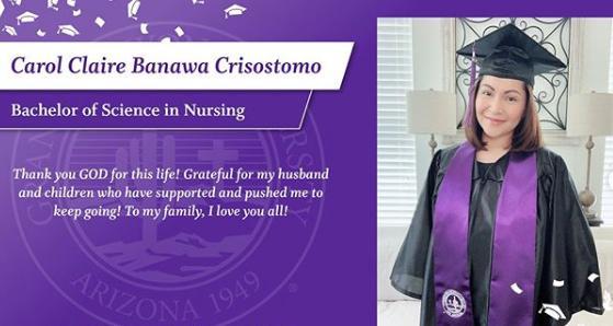 Carol Banawa nursing