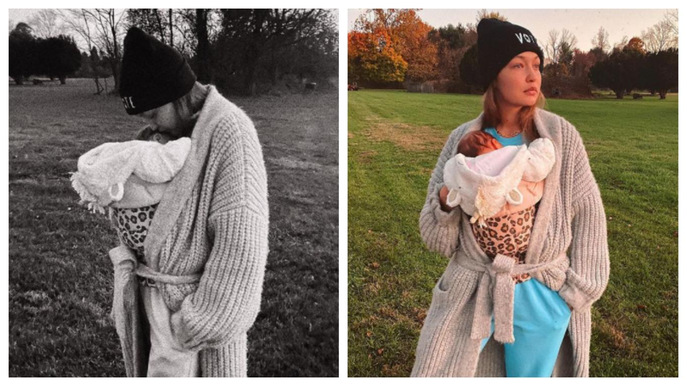 Gigi Hadid shares intimate pic with her baby: 'She's da ...
