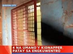 4 patay sa anti-kidnapping operation sa QC