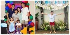 Camille Prats celebrates 13th birthday of son