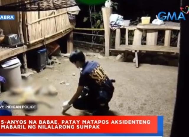 5-year-old girl killed in Abra shotgun incident