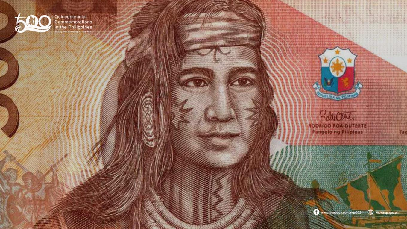 Lapulapu on 5000 banknote