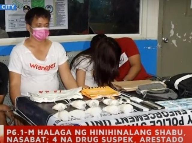 Makati cops seize P6.1M worth of shabu in West Rembo