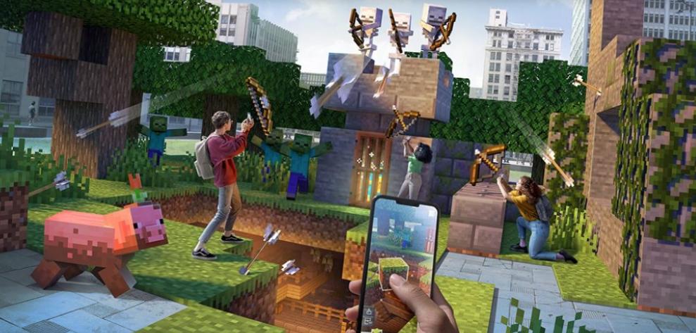 AR game Minecraft Earth is shutting down