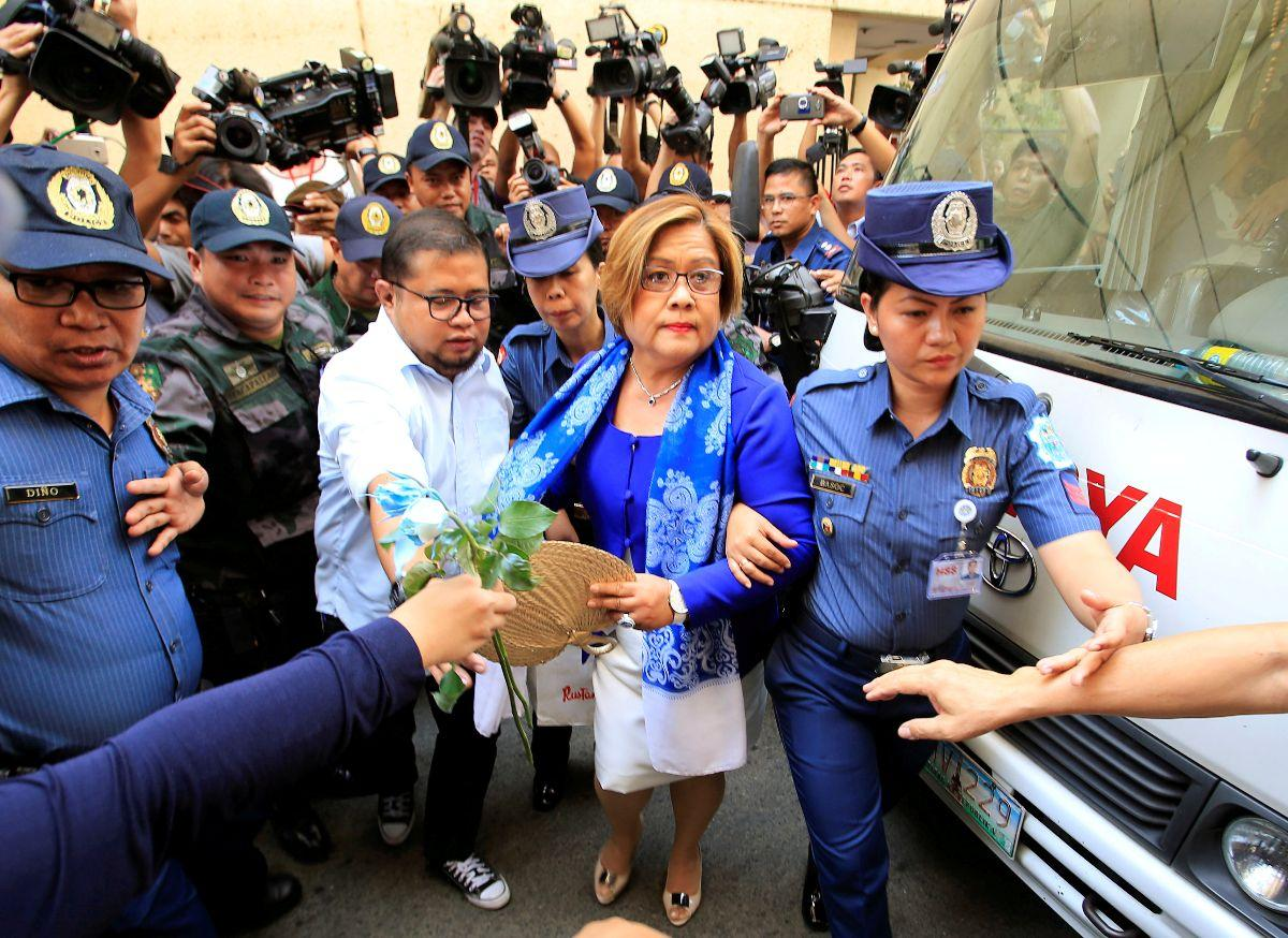 HRW: Drop all charges, release De Lima from detention
