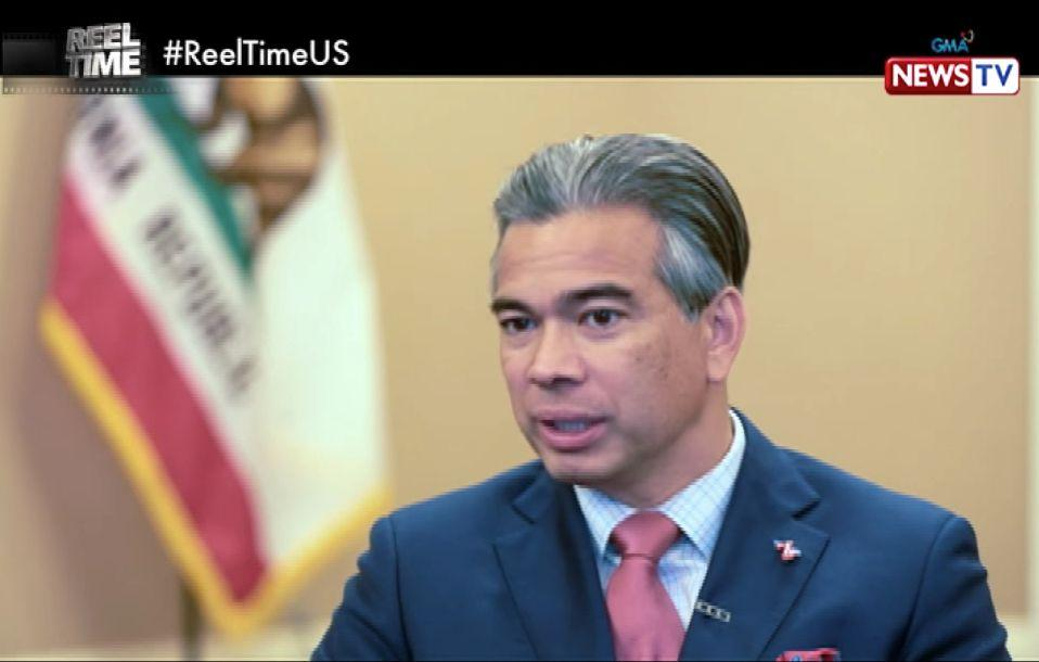 Filipino-American Rob Bonta appointed as California's new attorney general