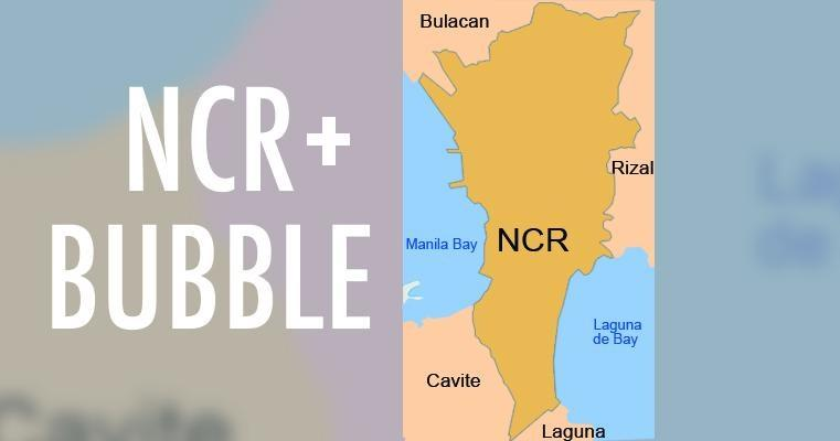 What is the 'NCR Plus' bubble?