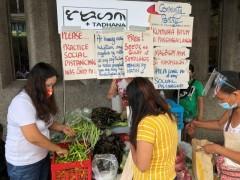 Luncena City community pantry, Quezon province
