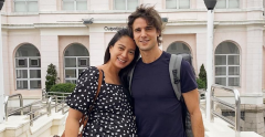 Isabelle Daza and Adrien Semblat