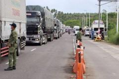 Typhoon Bising leaves travelers stranded at Bicol checkpoint