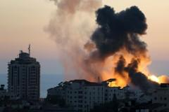 Gaza Strip-Israel cross border bombings