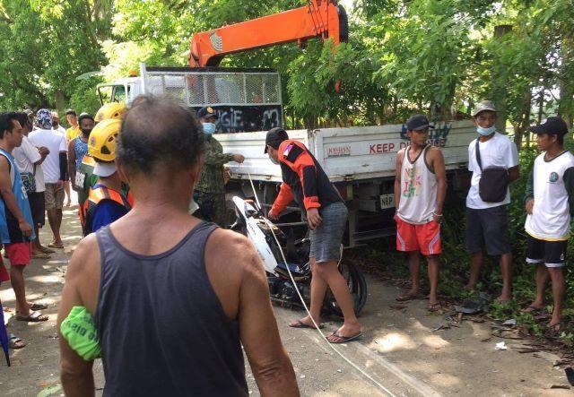 Road accident Tagkawayan, Quezon