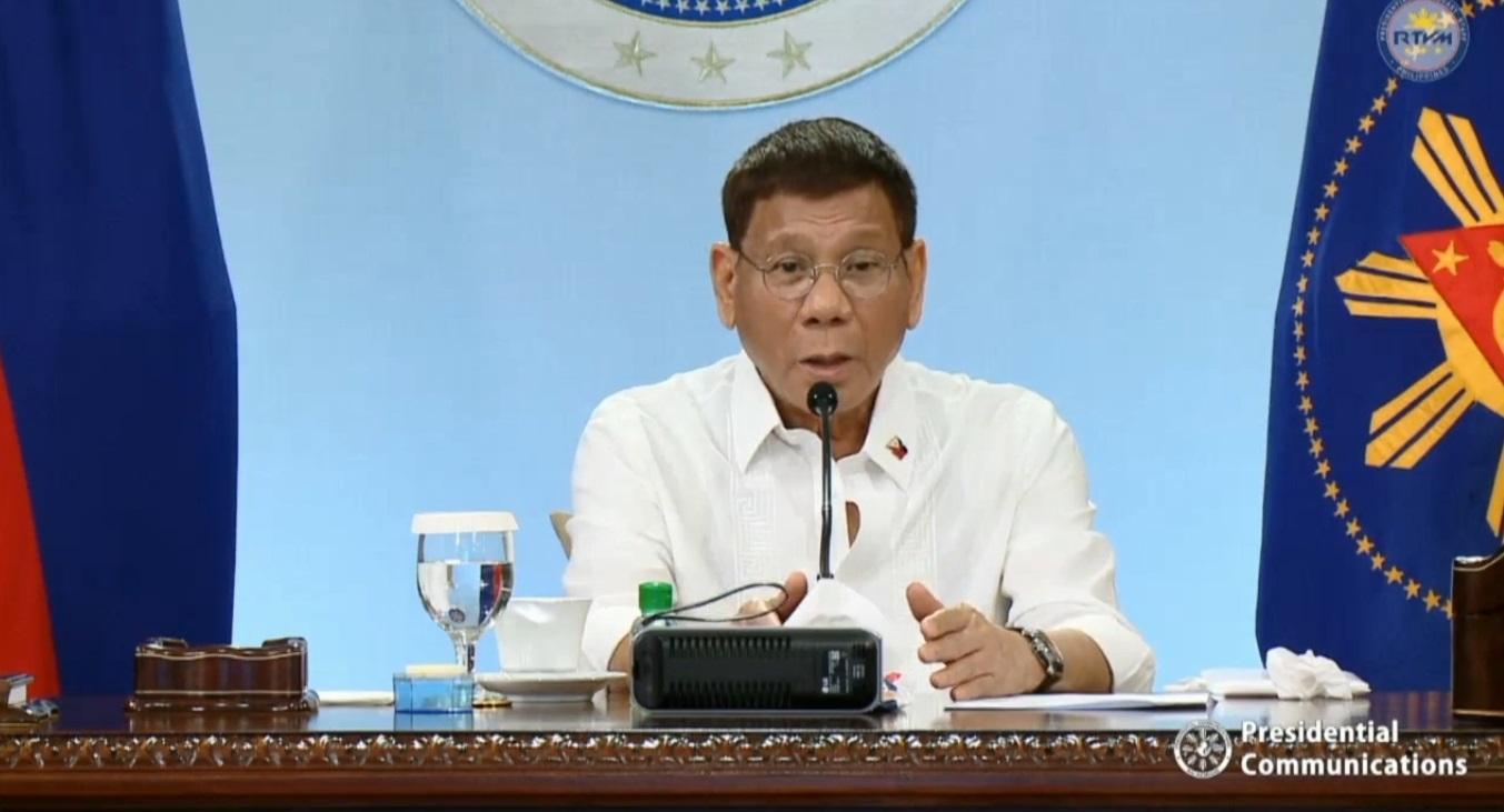DND backs Duterte remarks on arbitral court ruling vs China - GMA News