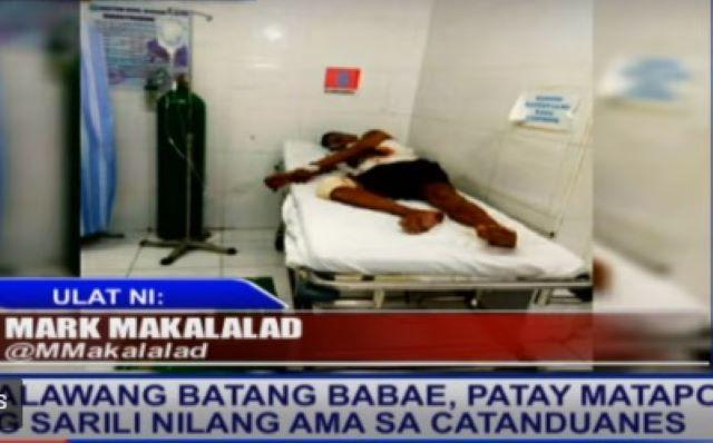 Father in Catanduanes stabs his two children to death