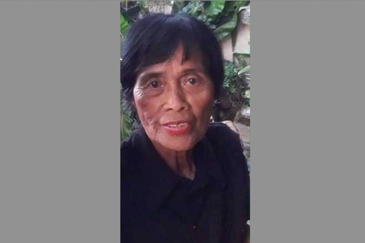 MISSING PERSON: Nelia Tomimbang