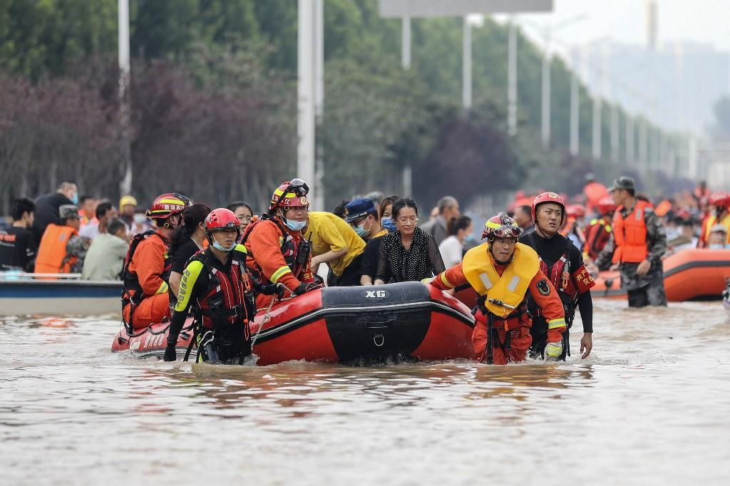 Death toll from China floods climbs to 51 - GMA News Online