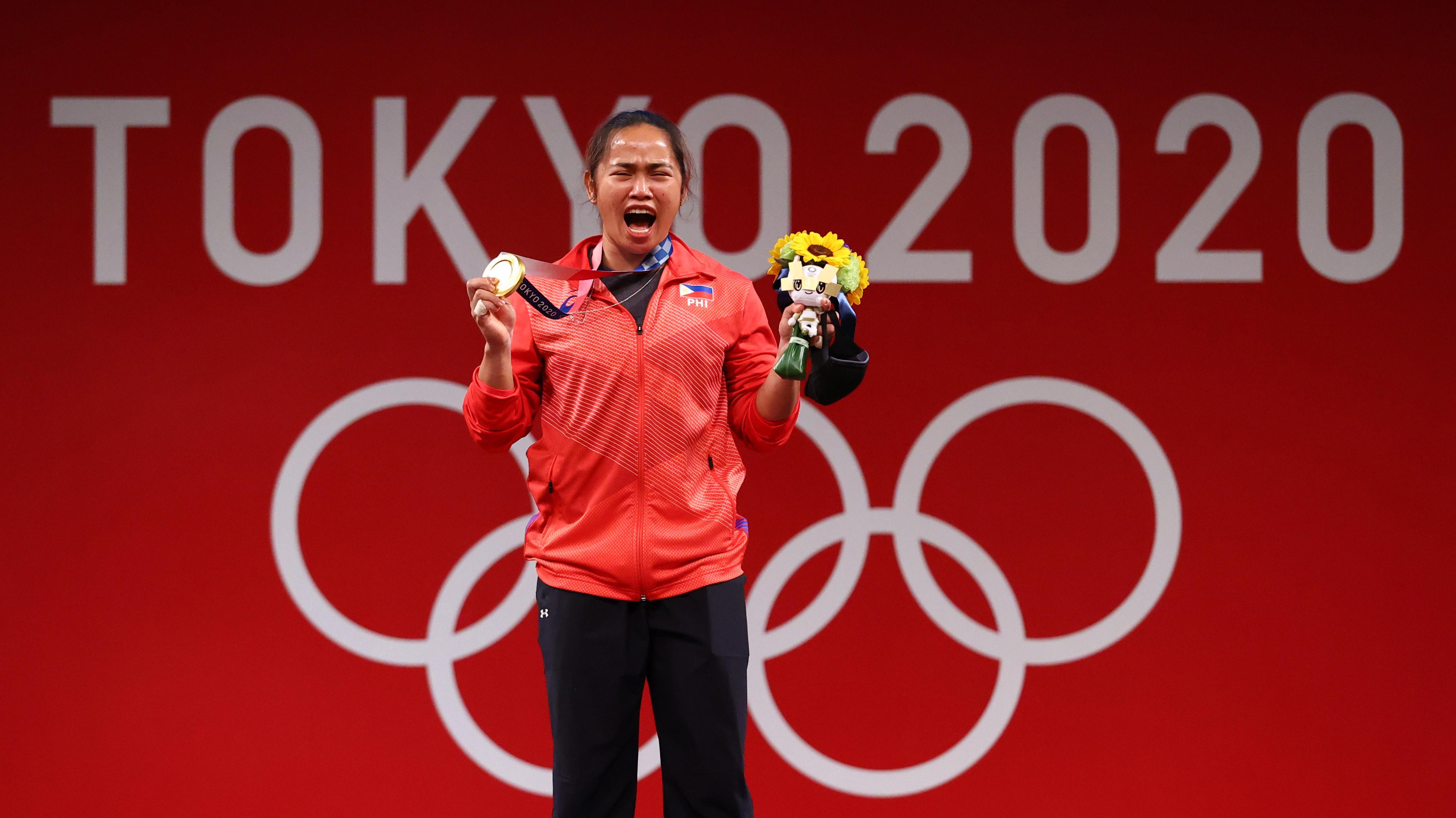 Governors to give at least P1M reward to Hidilyn Diaz for Philippines' first Olympic gold —LPP