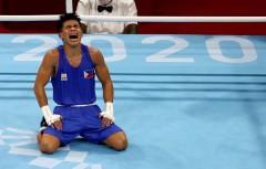 Carlo Paalam semifinals decision Tokyo Olympics