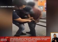 Cops arrest 'fake engineer' in Pasig City