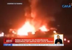 Parañaque City fire