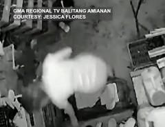 Pagnanakaw, huli sa CCTV