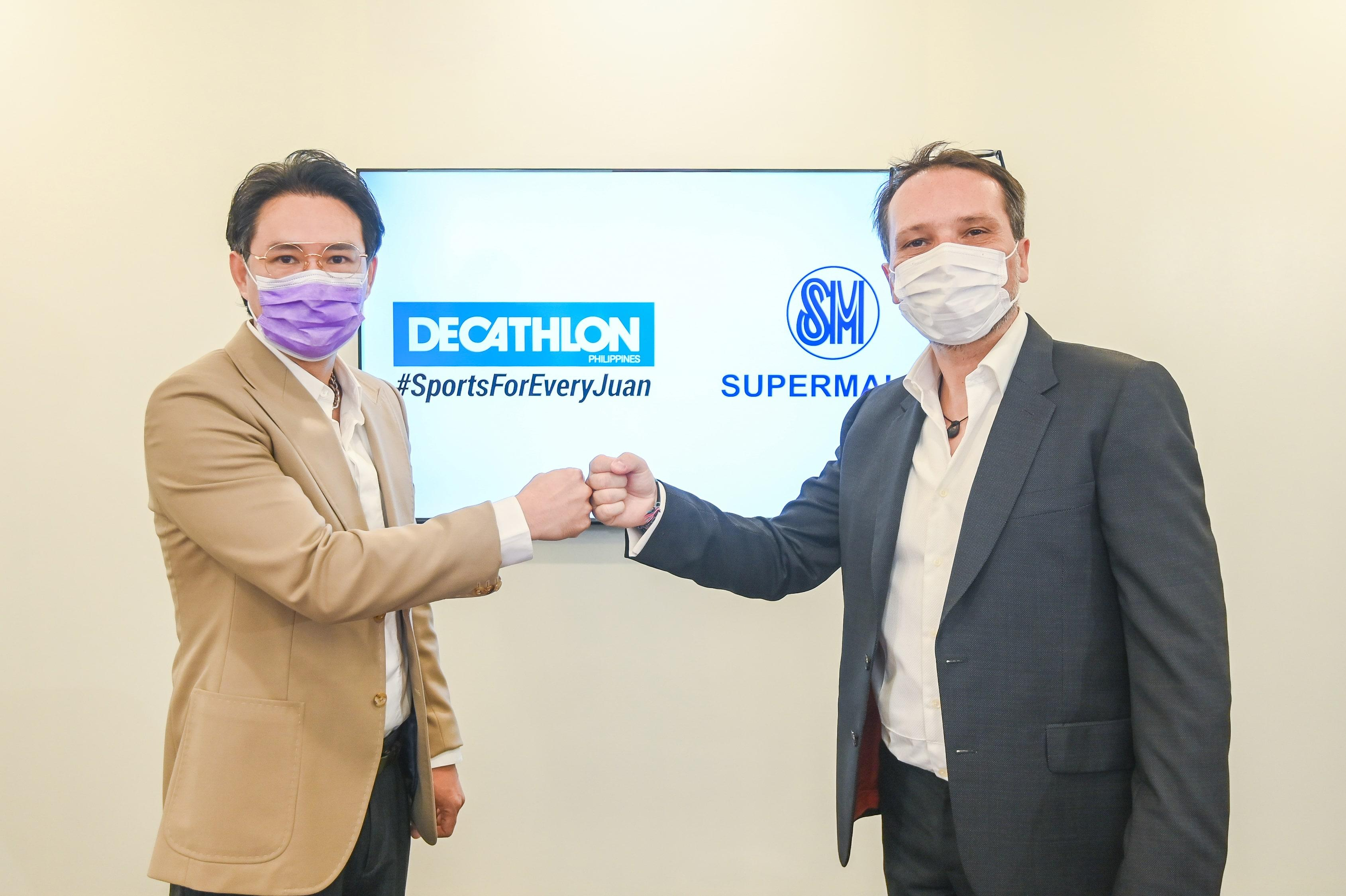 World's largest sports retailer Decathlon joins country's largest mall chain SM Supermalls